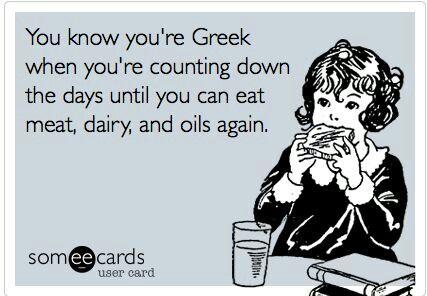 Greek Orthodox 40-Day Fasting