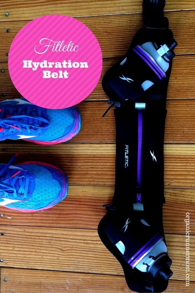 Fitletic Hydration Belt Review for runners both women and men. Perfect for  staying fueled and