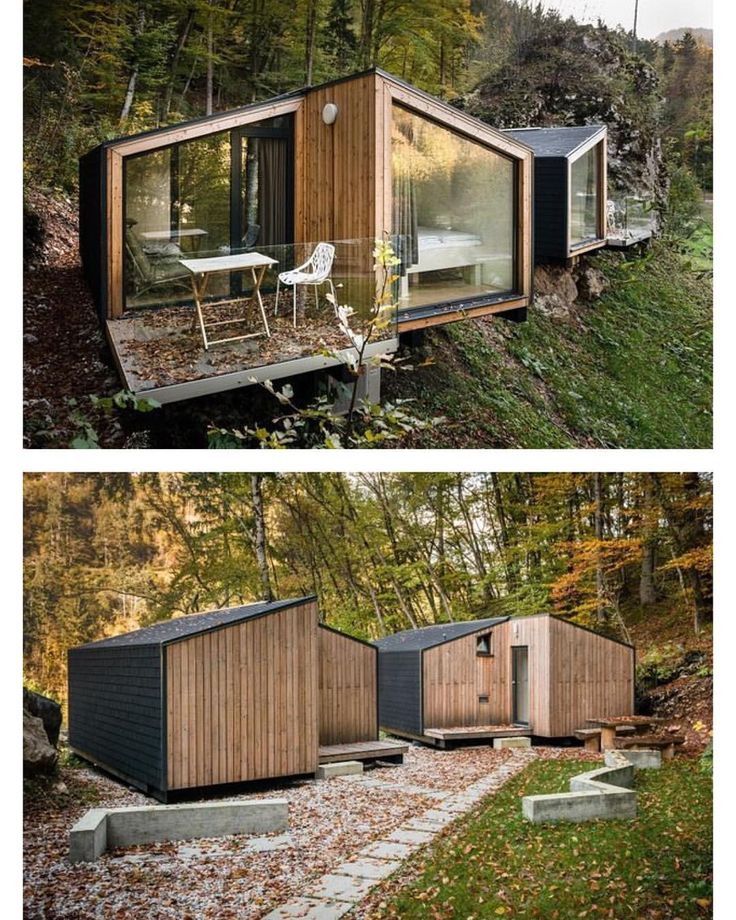 "5,192 Likes, 31 Comments - Prefab & Small Homes (@prefabnsmallhomes) on Instagram: ""EkoKoncept mini for-4, #Bled #Slovenia by Architects Tomaž Noč and Katarina Arsekić #interiors…"""