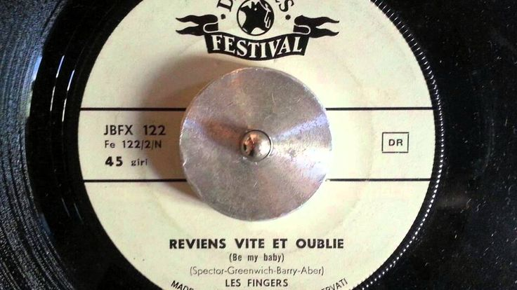 Les Fingers – Reviens Vite Et Oublie (Ronettes, Be My Baby) - french in...