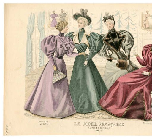 1893-1894, Tafel 088 :: Costume Institute Fashion Plates