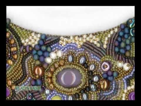 Bead embroidery basics Beads East. Excellent brief introductory beading tutorial.