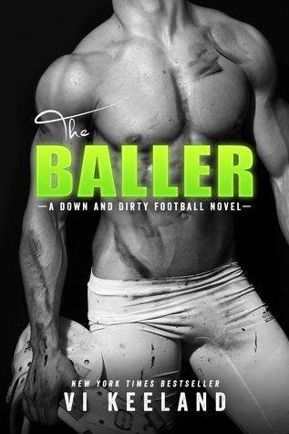 The Baller: A Down and Dirty Football Novel by Vi Keeland   https://www.goodreads.com/review/show/1552470885?book_show_action=false