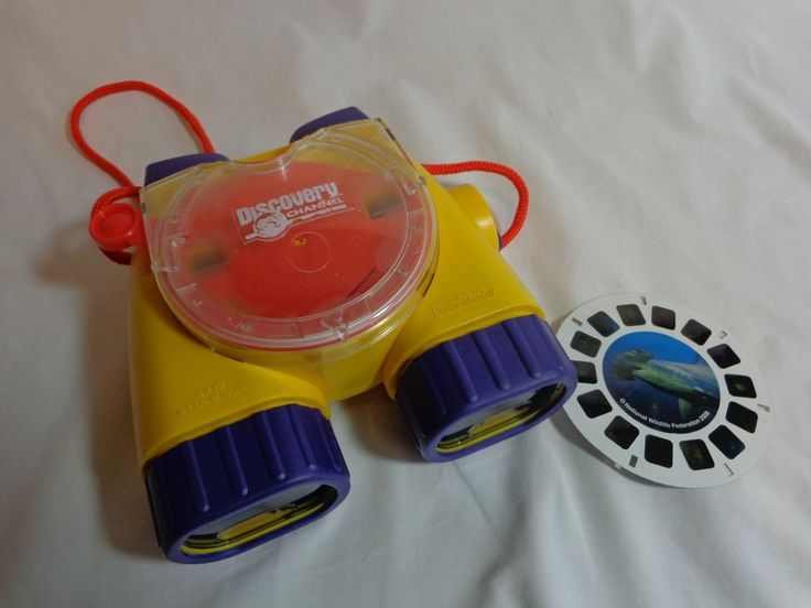 Discovery Channel VIEWMASTER Binoculars with ONE Sealife Disc Fisher Price 1998 #FisherPrice