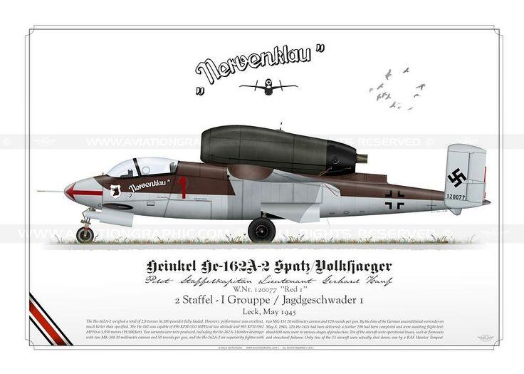 "He-162A-2 ""Spatz/Volksjaeger"" Hanf SR-09"