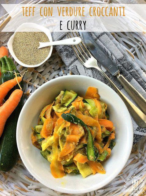 Briciole di Sapori: Teff con verdure croccanti e curry. Dall'Etiopia i...