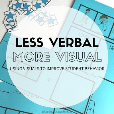LESS VERBAL, MORE VISUAL | Teaching Special Thinkers