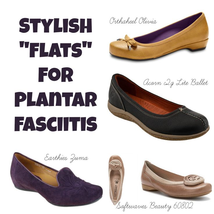"5 Stylish ""Flats"" for Plantar Fasciitis"