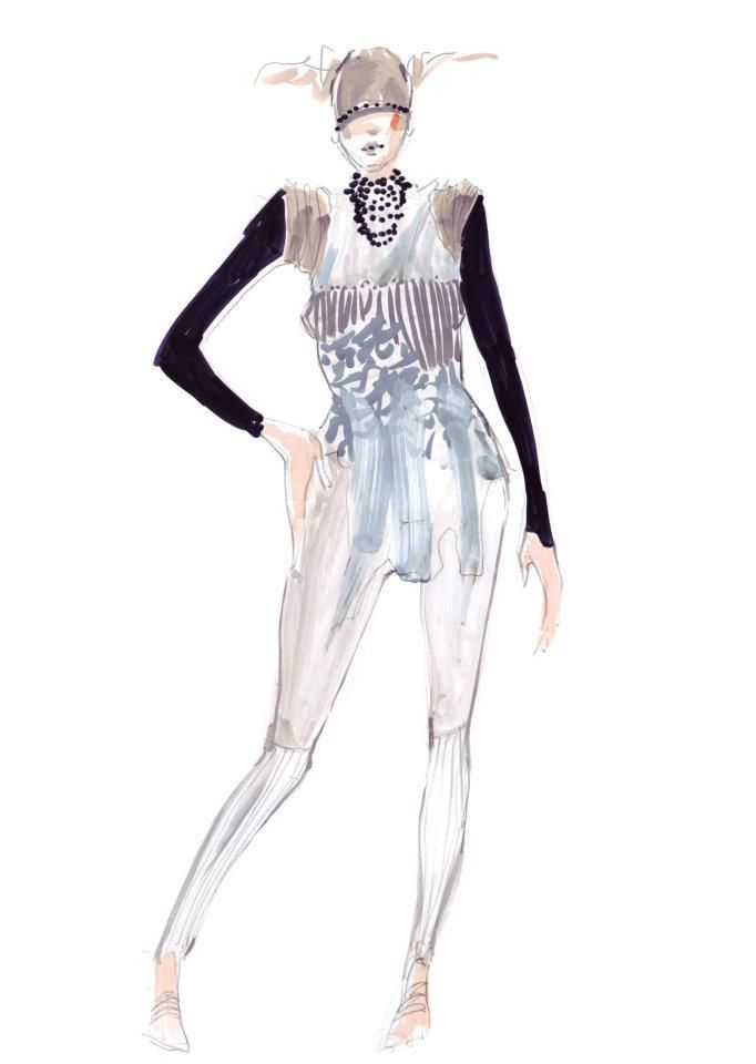 Welcome to the Fashion illustrations folder:)