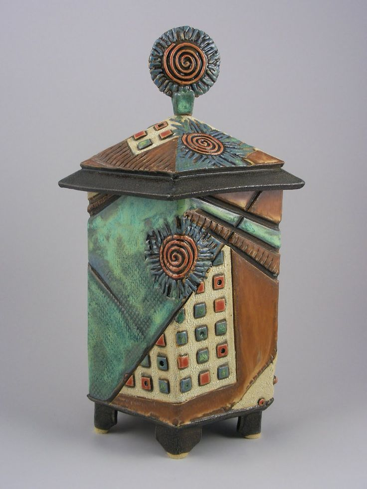 Best 25 slab boxes ideas on pinterest slab pottery for Clay pottery designs