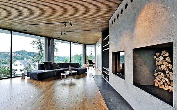 Nice house in Sandnes, Norway. Architect: Tommie Wilhelmsen