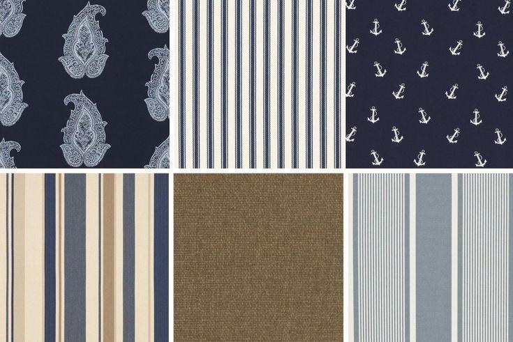 Ralph Lauren Maritime Outdoor Fabric