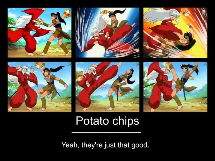 Potato chips! by ApostolicShadowNinja.deviantart.com on @deviantART
