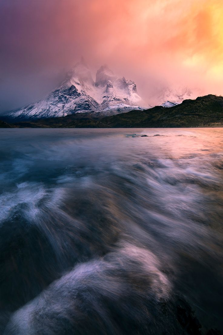 As the storm cleared, Torres Del Paine Patagonia Chile (1500x1000) - Nature and Science