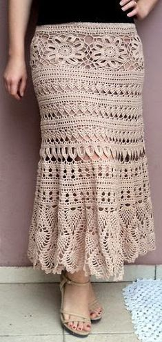 crochet skirt by Dalia Ivanowa (Picasa Web Album)