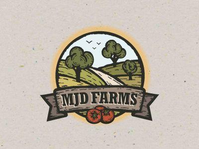 71 best Farm: Logo Design + Business images on Pinterest