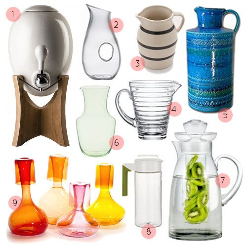 A Pitcher with flavor infused water should be on my desk every day.  The link connected to this pic has links to a bunch of water blend recipes.