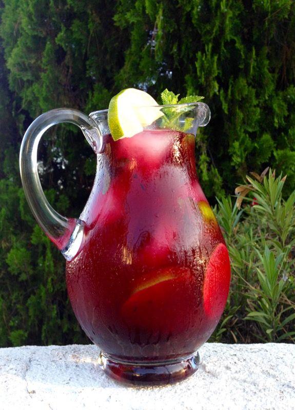 Blueberry Puree Limeade Recipe | CiaoFlorentina.com
