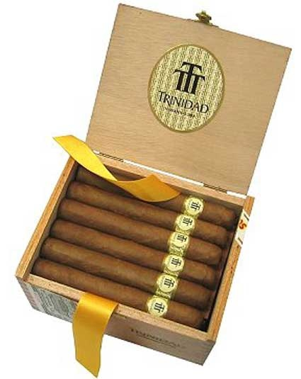 Trinidad cigars they date back as far as 1969; however they were at first only made for gifts to foreign diplomats.Trinidad Cigars, Les Cigars, Cigars Pip, Cuban Cigars, Cigars Win, Cigars Trinidad, Santisima Trinidad