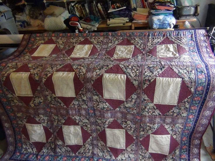 Carolyn Wainscott's Vintage County Fair Quilt Block