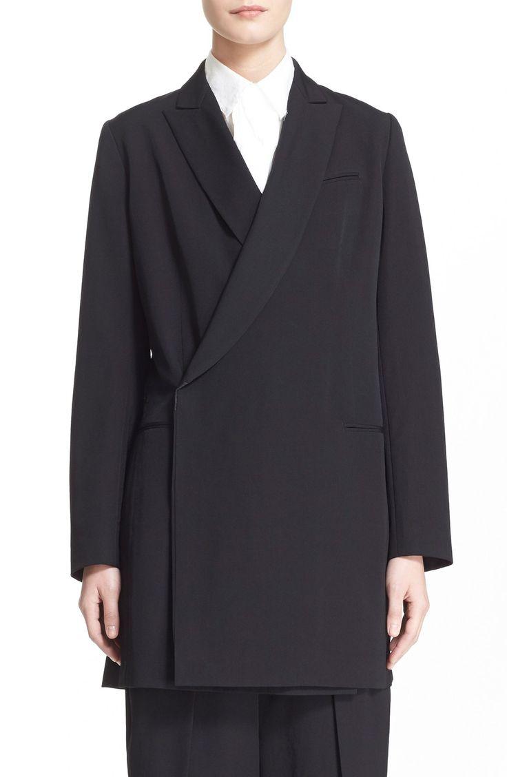Y's by Yohji Yamamoto Long Wool Jacket