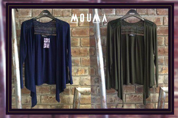 #MOUMAcasual Nuevas capas de algodón con canesú en guipur Colores Azul marino / Verde militar MOUMA vestidos (@MOUMAvestidos) | Twitter