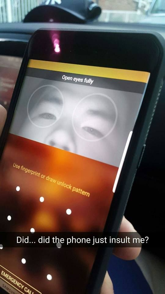 I am an Asian that finally used the Iris Recognition Technology on his phone