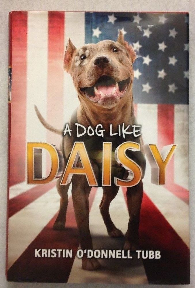 A Dog Like Daisy Book for Ages 8-12 Rescued Pit Bull Trains to be a Service Dog