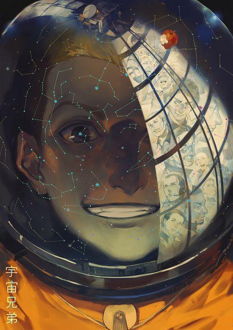 「ガラスに映った夢-日日人SIDE」/「零@SAN値不足」のイラスト [pixiv]