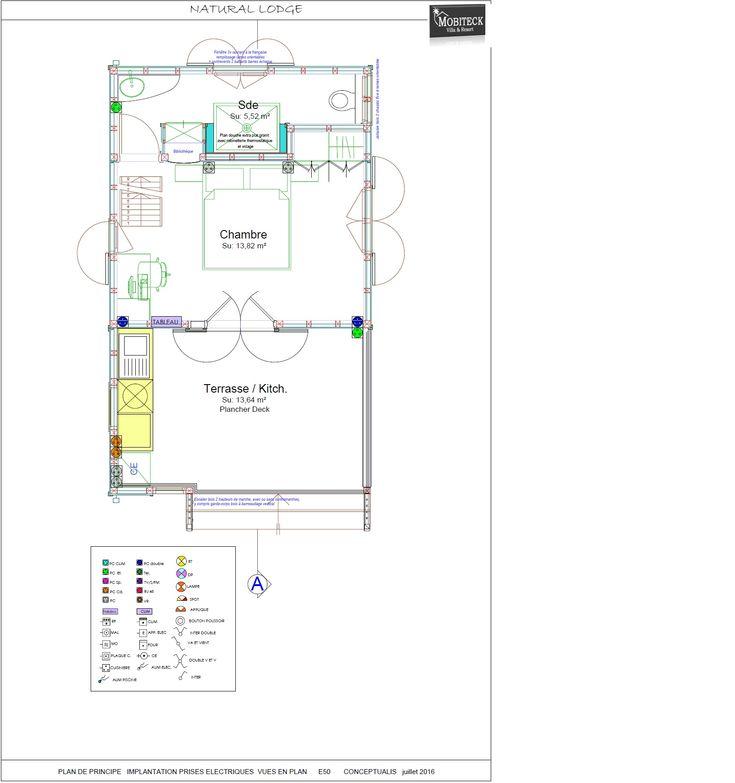Fondation du0027une maison bois Mobiteck  constructeur bungalow kit - prix d une extension de maison de 20m2