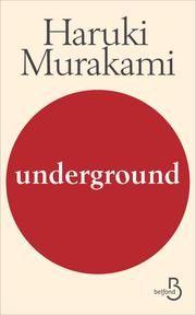 Underground ebook by Dominique LETELLIER,Haruki MURAKAMI