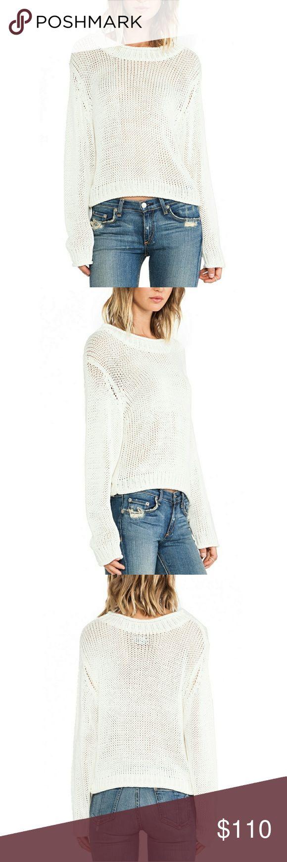 Sweater Sale! Cheap Monday Tape Sweater 100% acrylic Rib knit edges Cheap Monday Sweaters