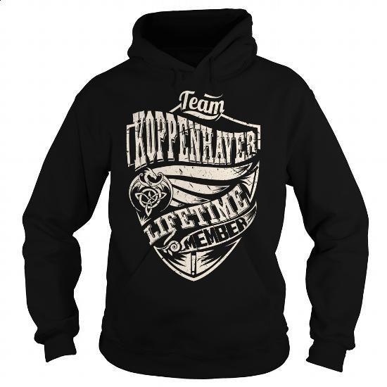 Team KOPPENHAVER Lifetime Member (Dragon) - Last Name, Surname T-Shirt - #gift…  https://www.birthdays.durban