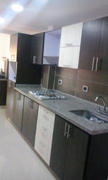 Fabricado por c g arte y decoraci n cocina integral con for Cocinas de granito natural