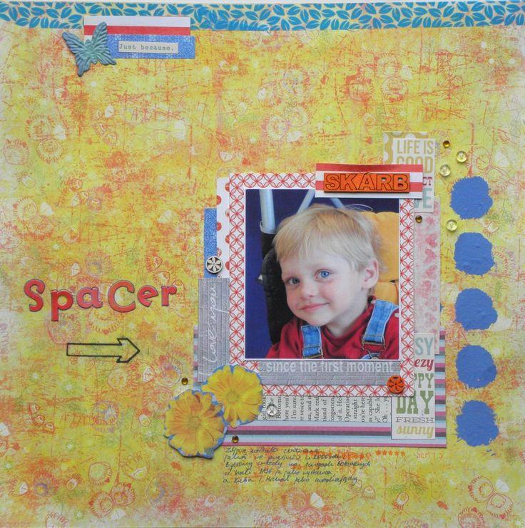 goscrap.plPrzegląd Waszych prac VIII // GOscrap Fan Art Gallery VIII » goscrap.pl by Krulik #goscrap #scrapbooking