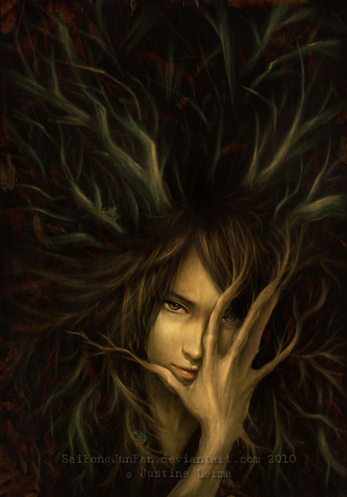 'LILITH' Unique Dark Fantasy about Angels. *Warrior vegetation come to life in the forbidden forests in Heaven.