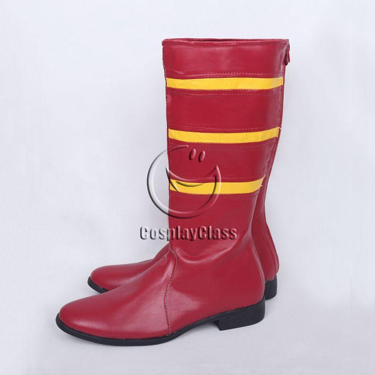 DC Comics Jesse Quick Jesse Chambers Cosplay Boots  #Dccomics #cosplayboots
