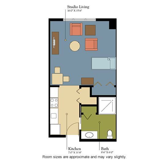 Assisted Living Room Floor Plans