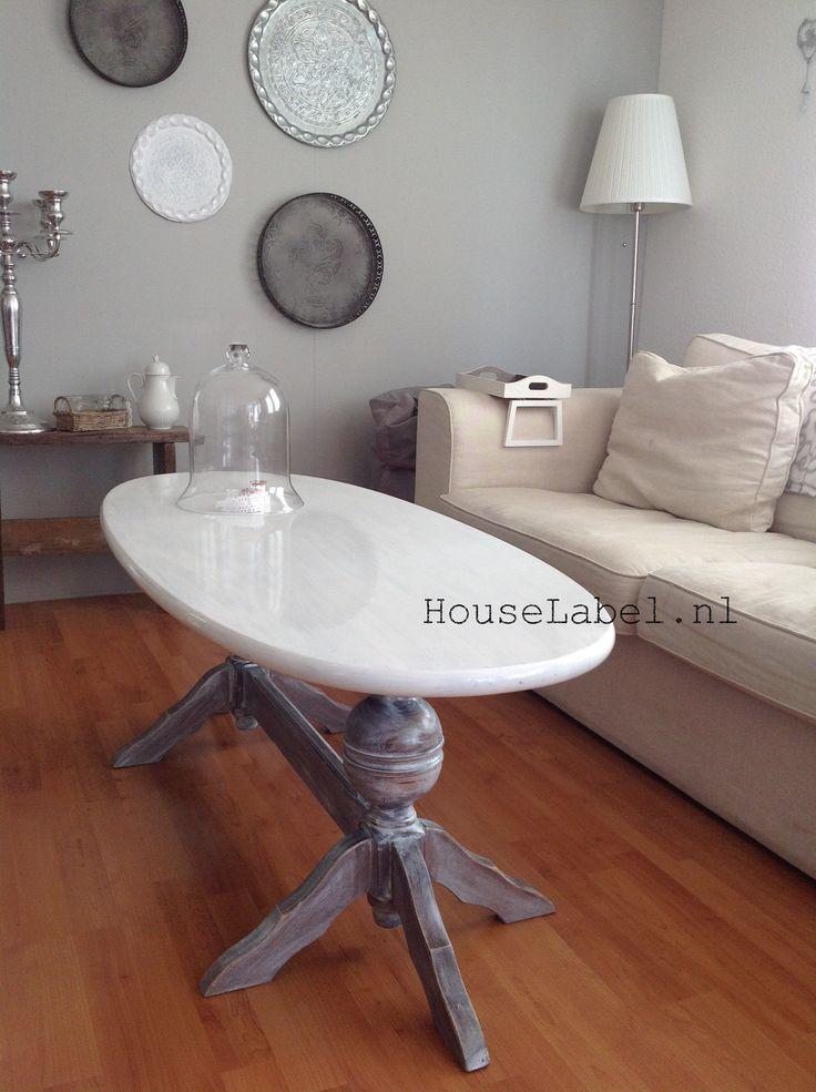 Ovale salontafel Made by HouseLabel.nl