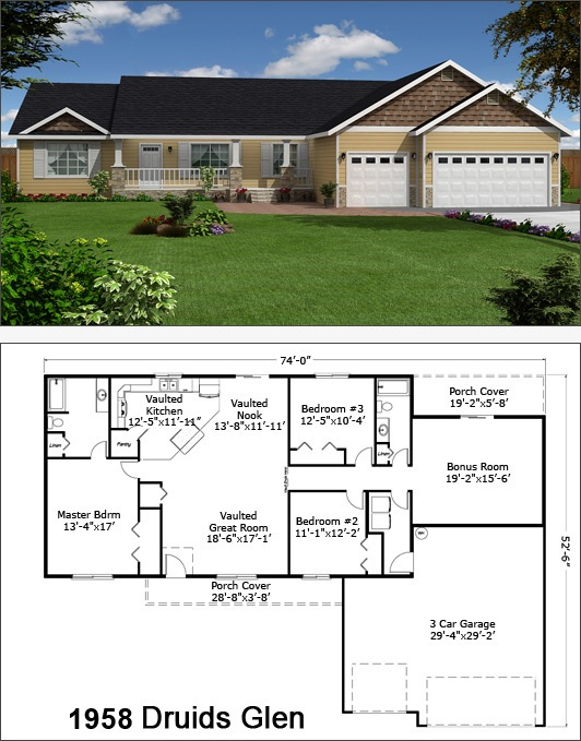 Home builders washington state floor plans for Home plans washington state