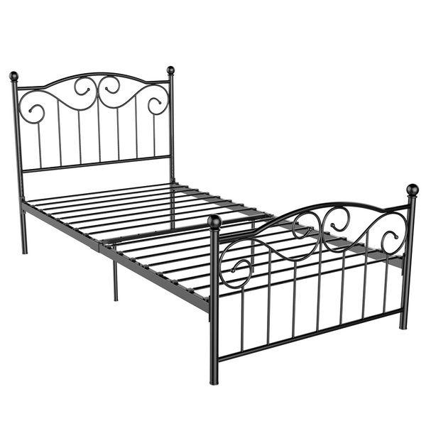 Single Bed Frame Metal Twin Bed Frame Black Single Metal Bed Frame Metal Twin Bed Frame Bed Frame