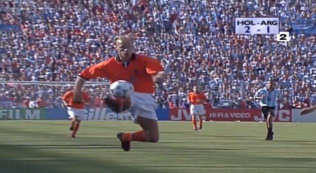 Dennis Bergkamp, Holland - Argentina World Cup 1998 https://www.youtube.com/watch?time_continue=4&v=azUgsIkBGYc