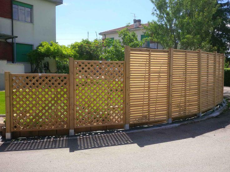Oltre 25 fantastiche idee su pannelli di recinzione su - Recinzioni privacy giardino ...