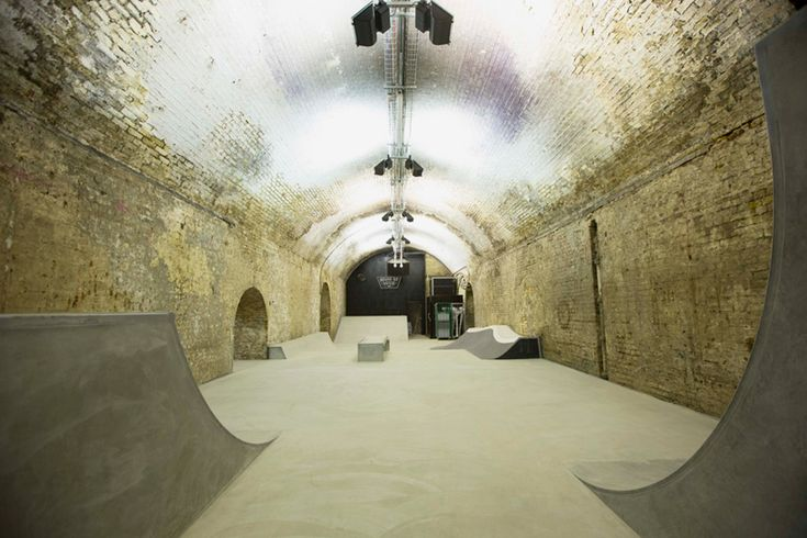house of vans london indoor skatepark designboom