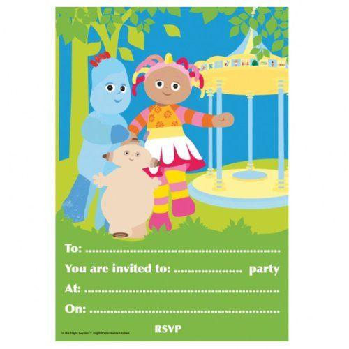 In The Night Garden Invitations Australia | Invitationswedd.org