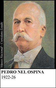 Presidente de la República en el período 1922-1926, nacido en Bogotá, el 18 de septiembre de 1858, muerto en Medellín, el 1 de julio de 1927.