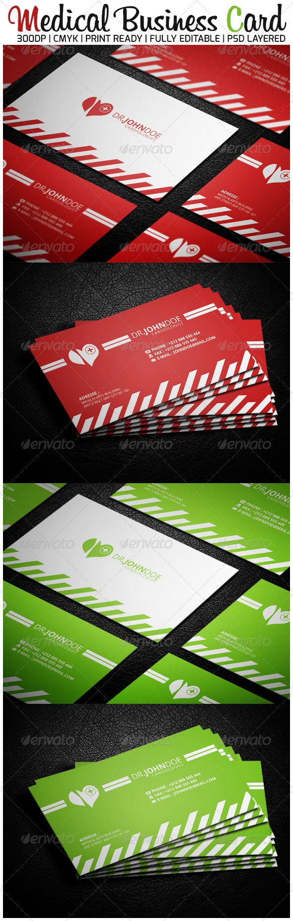 87 best print templates images on pinterest script fonts artist medical business card graphicriver specifications 300 dpi 352 375 magicingreecefo Choice Image