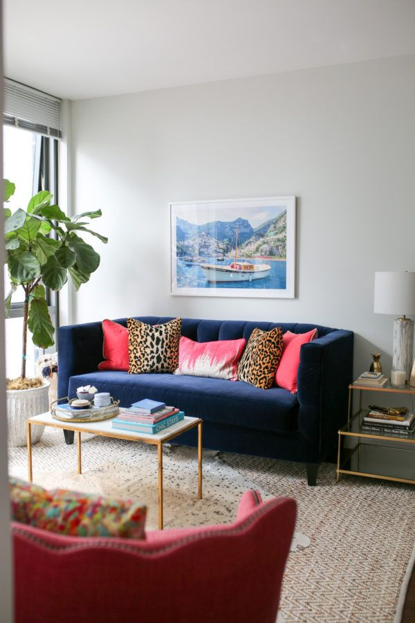 fun gold living room decor. Fun Living Room Tour in Chicago s Gold Coast 2318 best decor  interior design images on Pinterest Decor