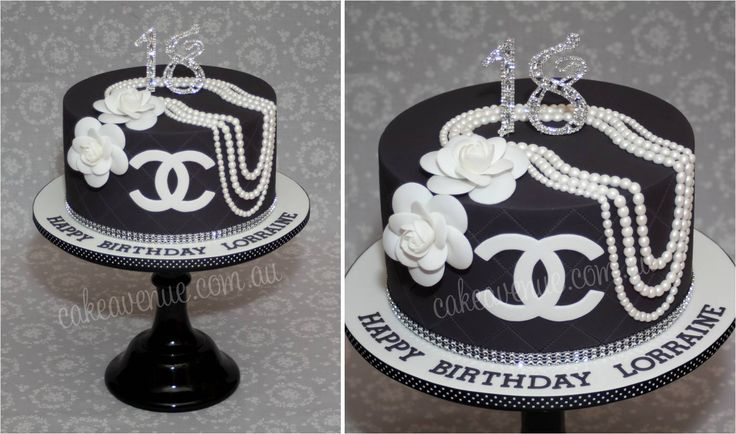 Birthday Cake Pictures Chanel : 1000+ images about Chanel Birthday Cakes on Pinterest