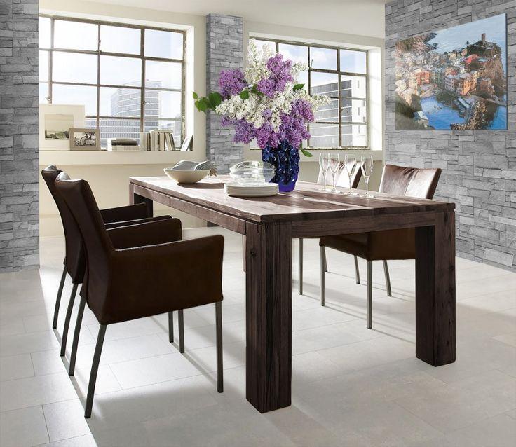 Esstisch stühle leder  17 besten Stühle weiss Bilder auf Pinterest | Weiss, Armlehnen und ...
